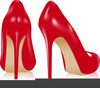 Free Clipart High Heel Shoes Image