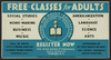 Free Classes For Adults - Register Now Image