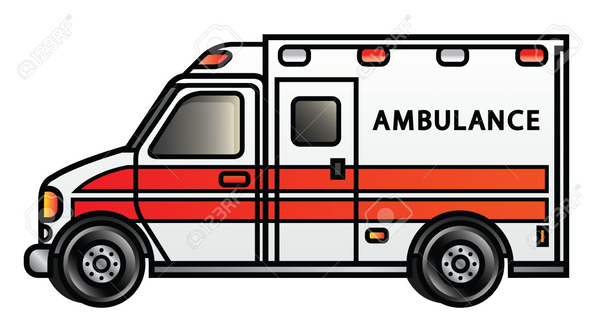 cartoon ambulance clipart free images at clker com vector clip rh clker com ambulance clipart pictures ambulance clipart outline
