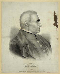 Zachary Taylor, Major Genl. Of The U.s. Army  / F. Michelin Lith. 111 Nassau St., N.y. ; Drawn By Edwd. Clay. Image