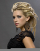 Crimped Hairstyles Updo Image