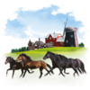 Animals Horses Icon Image