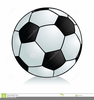 Foot Ball Cartoon Clipart Image