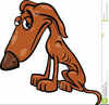 Hungry Dog Clipart Image