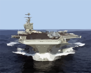 Cvn 74 At Sea Clip Art