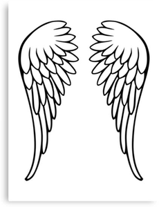 Clipart Of Angel Wings Image