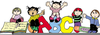 Kindergarten Clipart Black And White Image