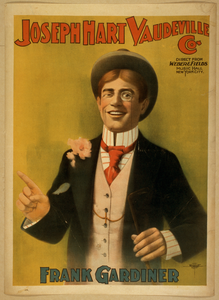 Joseph Hart Vaudeville Co. Direct From Weber & Fields Music Hall, New Ork City. Image