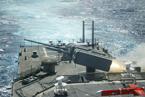 Uss O Brien Launches A Surface-to-air Nato Sea Sparrow Missile Image