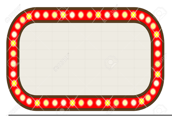 movie theater marquee clipart free images at clker com vector rh clker com broadway marquee clipart marquee clipart png