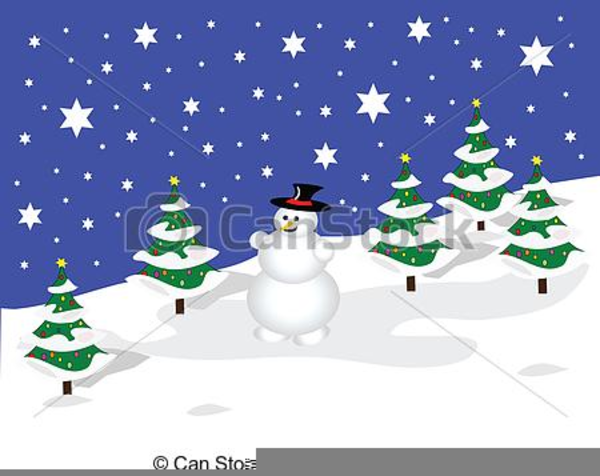 Free Clipart Winter Scene | Free Images at Clker.com ...