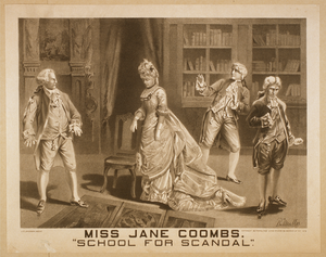 Miss Jane Coombs,  School For Scandal  Image