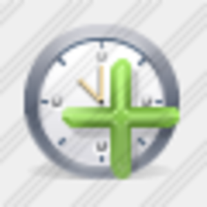Icon Clock Add Image