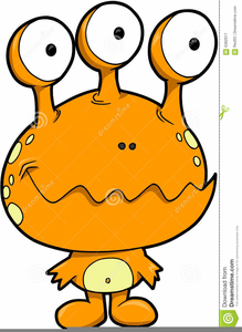 Free Scary Eyes Clipart Image