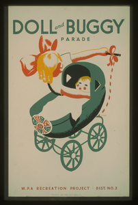 Doll And Buggy Parade--wpa Recreation Project, Dist. No. 2  / Beard. Image