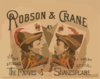 Robson & Crane As The Knaves Of Shakespeare Clip Art