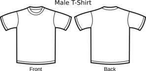 T-shirt Template Clip Art