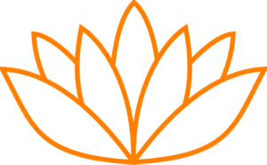 Orange Lotus Flower Picture Iii Clip Art