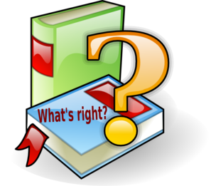 What S Right? Clip Art