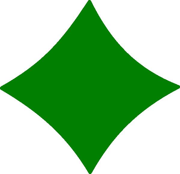 Diamond Green Clip Art at Clker.com - vector clip art ...