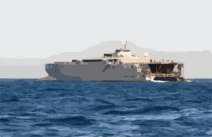 Joint Venture, High Speed Vessel Experimental One (hsv X1) Transports Various Different Warfare Groups Clip Art