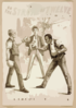On The Stroke Of Twelve The Plausible American Comedy Drama : By Joseph Le Brandt. Clip Art