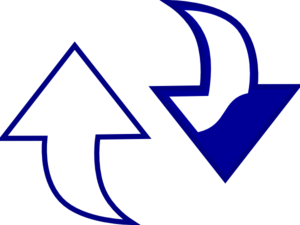Changebluewhite Clip Art