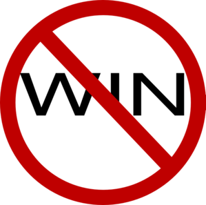 No Win Clip Art