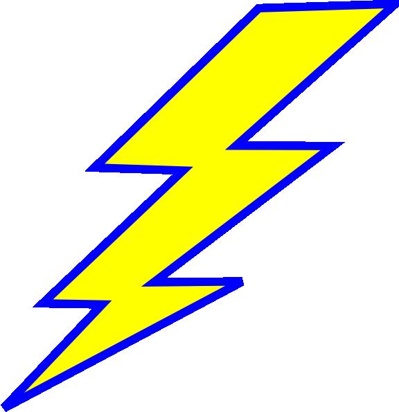 lightning bolt clip art at clker com vector clip art online rh clker com lightning clipart gif lightning clipart black and white