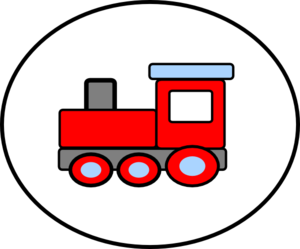Cohens Birthday Train 2 Clip Art