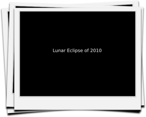 Lunar Eclipse Photo Clip Art