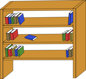 Bookshelf Clip Art At Clker