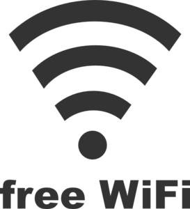 Free Wifi Sign Clip Art