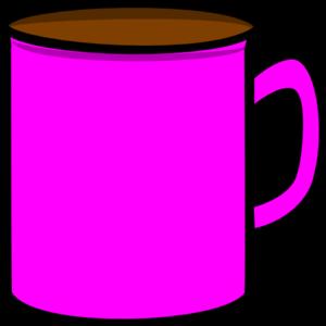 Pink Mug Clip Art at Clker.com - vector clip art online, royalty ...