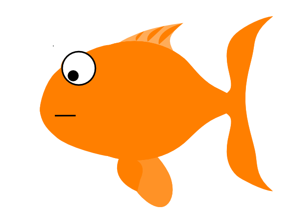 Orange Fish Clip Art