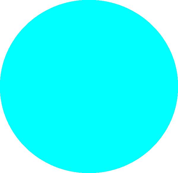 blue circle clip art - photo #3