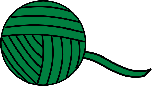 green yarn ball clip art at clker com vector clip art online