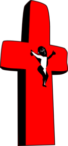 Jesus Red Cross Clip Art