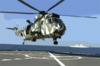 British Royal Navy Sea King Aboard Usns Pecos Clip Art