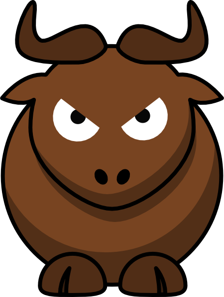 Angry Bull Clip Art at Clker.com - vector clip art online, royalty ...