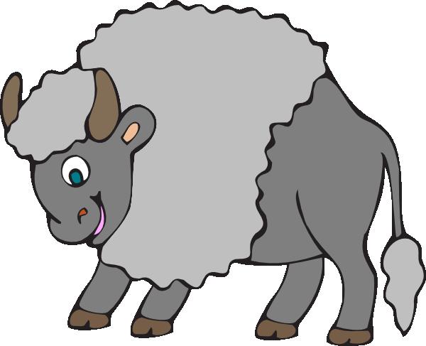 big gray ox clip art at clker com vector clip art online royalty rh clker com blue ox clip art fox clipart