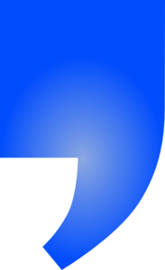 Signle Blue Quote Clip Art
