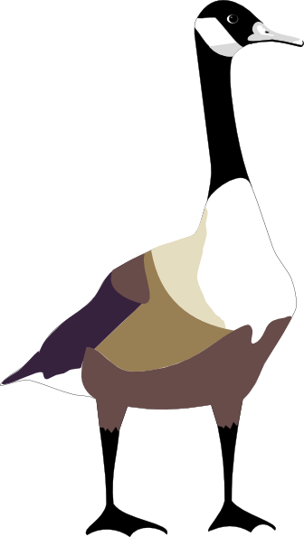 goose hunting clipart - photo #39