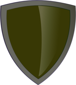 Blue Security Shield5 Clip Art