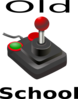 Old School Joystick Clip Art