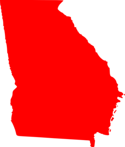 Georgia Red Clip Art