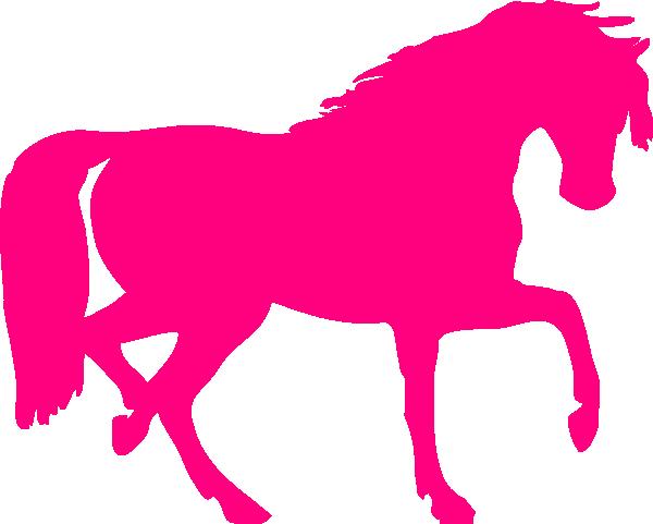 Pink Horse Clip Art At Clker Com Vector Clip Art Online