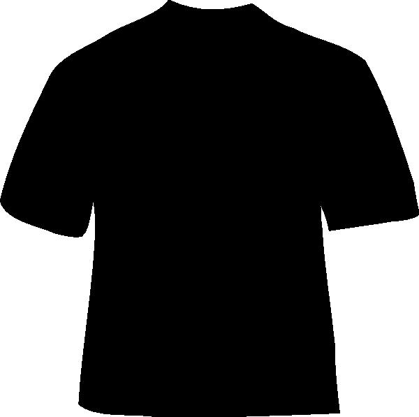 Black Plain T Shirt Clip Art At Vector Clip