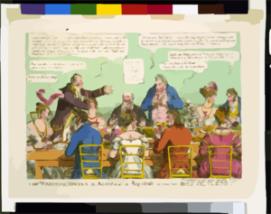 The Wedding Dinner, Or, Moses And The Magistrate, Vide London Tavern Clip Art