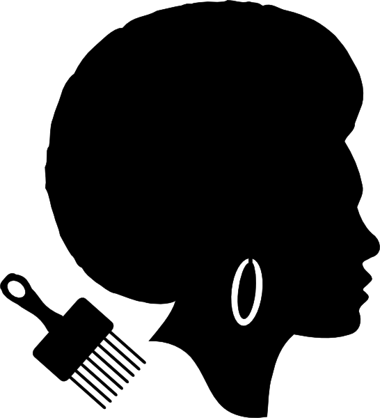 African American Afro Woman Clip Art at Clker.com - vector ...